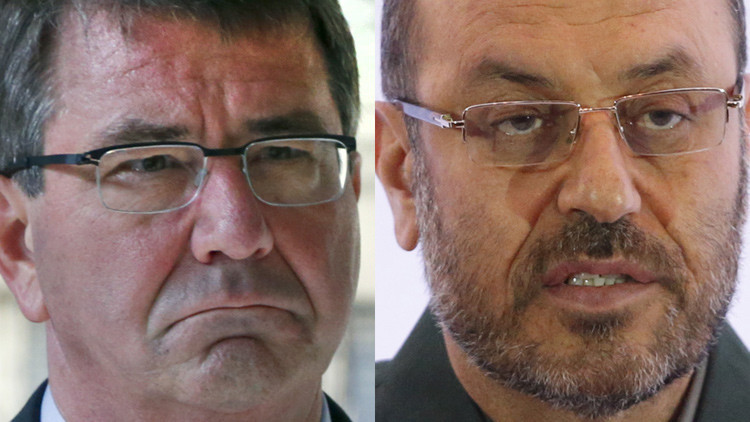 "El ministro de Defensa iraní a Ashton Carter: ""Cuida tus palabras"""
