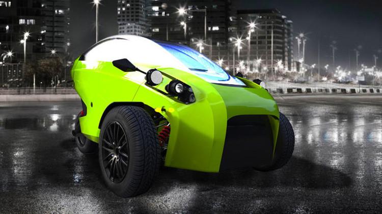 Ventajas de tres medios de transporte: conozca el flamante primer coche eléctrico chileno (Video)