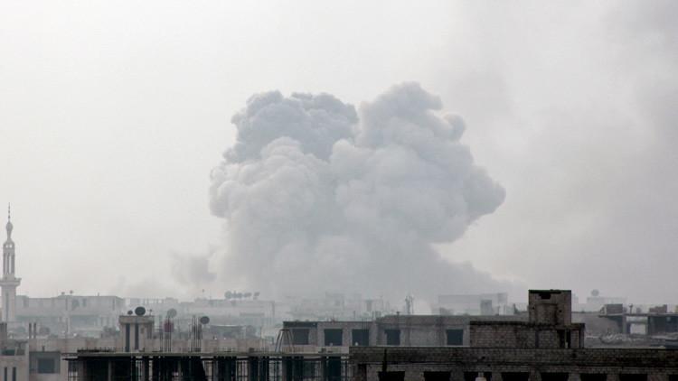 Las Fuerzas Armadas sirias lanzan un ataque mortal contra terroristas en Darayya (video)