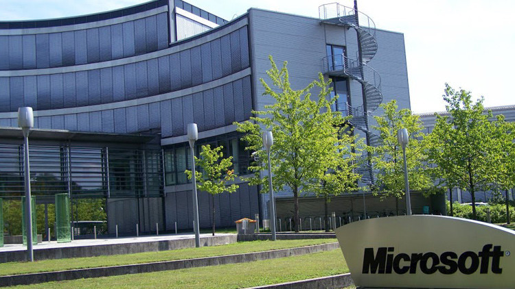 La sede de Microsoft en Múnich, Alemania