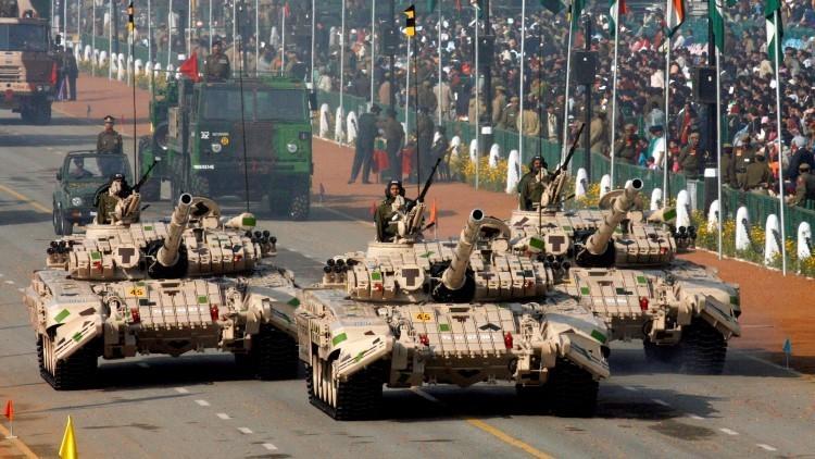 Arrancan en la India los ejercicios militares conjuntos con Rusia Indra 2015