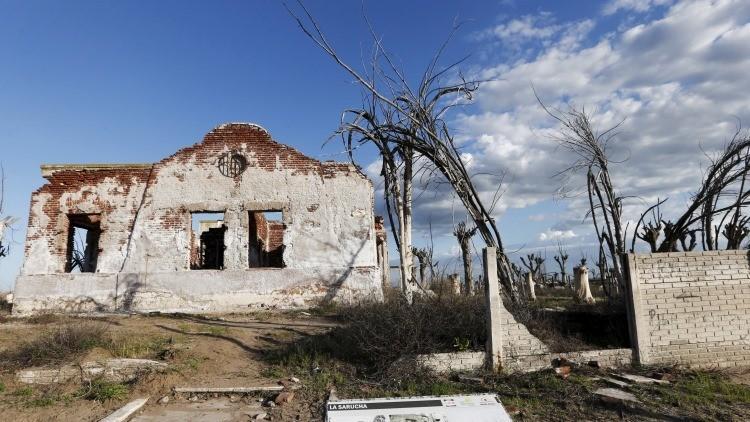 FOTOS: Villa Epecuén, la misteriosa ciudad abandonada que resurgió del agua en Argentina