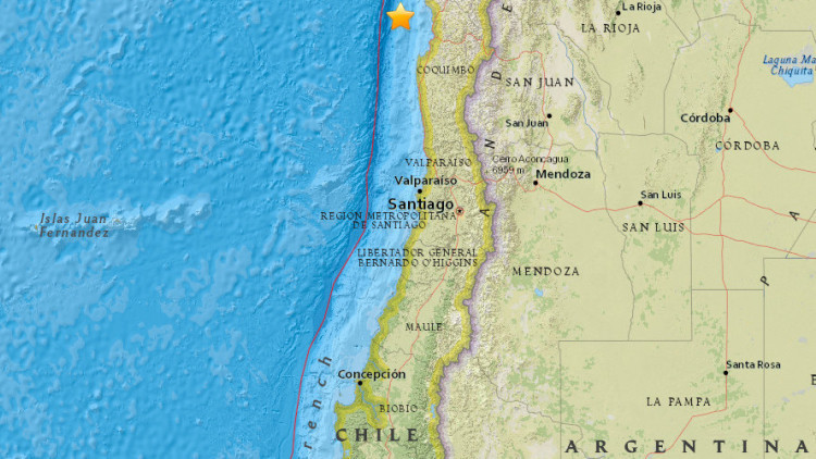 Un terremoto de magnitud 6,9 sacude Chile