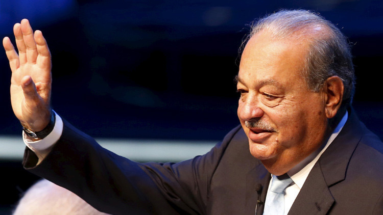 La fortuna de Carlos Slim supera la de todos los mexicanos juntos
