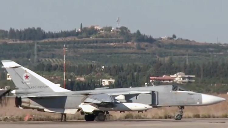 Entre en la base rusa de Latakia donde se ultima la operación antiterrorista en Siria (video)