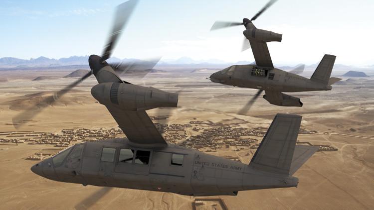 Batalla de convertiplanos en EE.UU. para sustituir al famoso Black Hawk