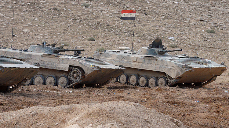 SIRIA: Fuerzas sirias eliminan a decenas de terroristas del EI y el Frente al Nusra