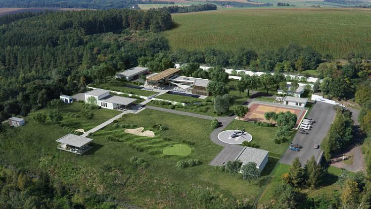 Conozca el multimillonario y lujoso búnker checo construido bajo tierra en plena Guerra Fría