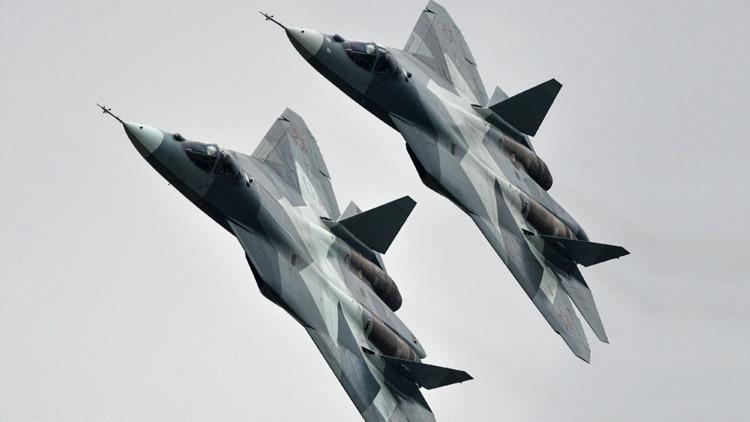 """El nuevo caza ruso T-50: """"un avión 100% digital"""""""