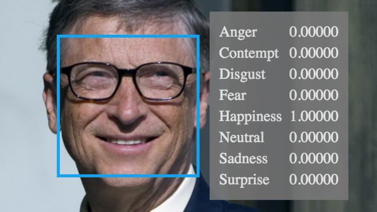 ¿Enfadado, feliz o con miedo?: Conozca el nuevo sistema de Microsoft para 'leer' sus emociones