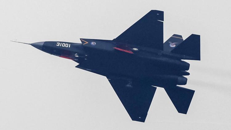 Un prototipo de avión furtivo chino J-31