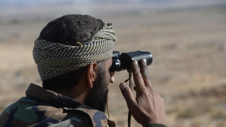 Un soldado sirio