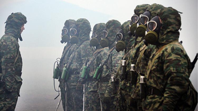 Conozcan cómo se entrenan tropas rusas que impiden el uso de armas químicas (video)