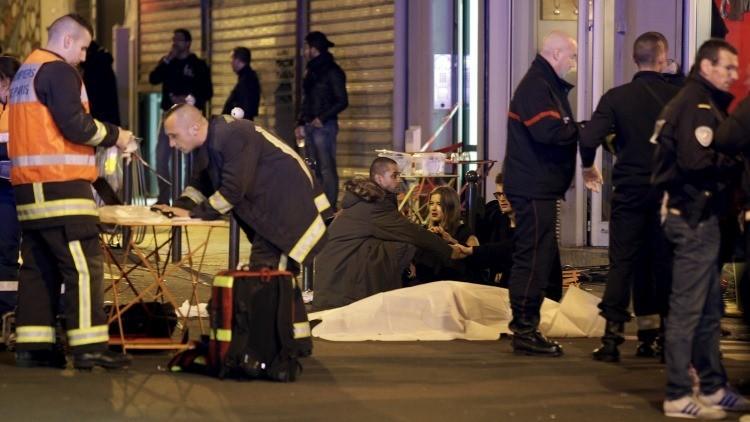 Francia: Varios muertos en un tiroteo en el centro de París