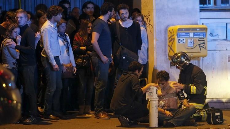 La policía abre fuego contra los asaltantes del teatro de Bataclan