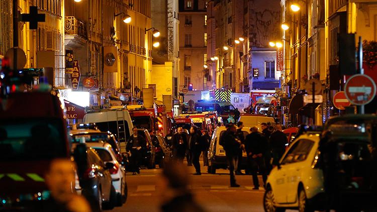Primeros videos de los sangrientos ataques terroristas en París