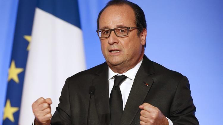 Hollande: El Estado Islámico está detrás de los ataques en París