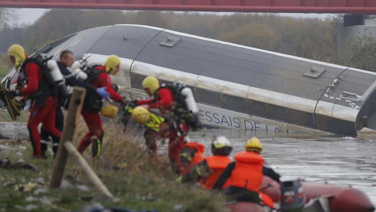 Varios muertos tras descarrilar un tren de alta velocidad cerca de Estrasburgo (VIDEO, FOTOS)