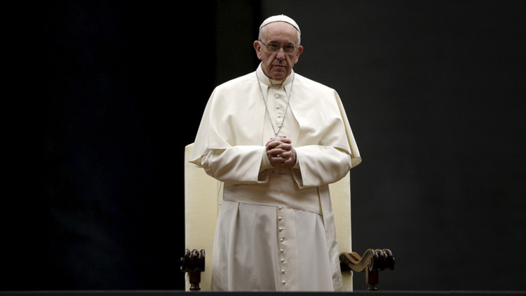 """El papa Francisco advierte de que los atentados en París son """"parte"""" de la Tercera Guerra Mundial"""