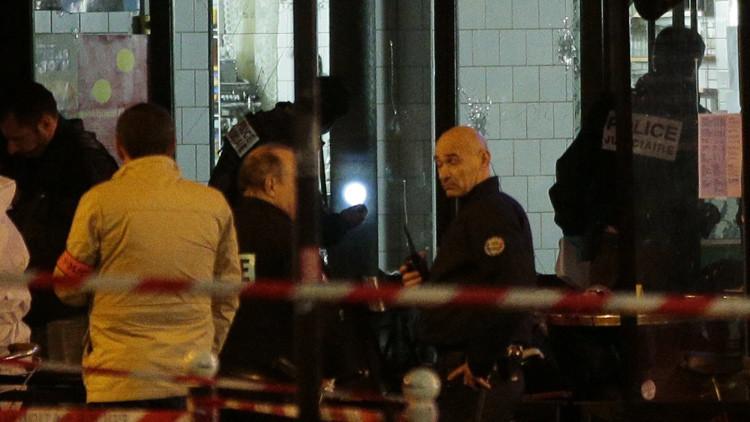Fuertes imágenes: Publican video de las víctimas en el bar de París atacado