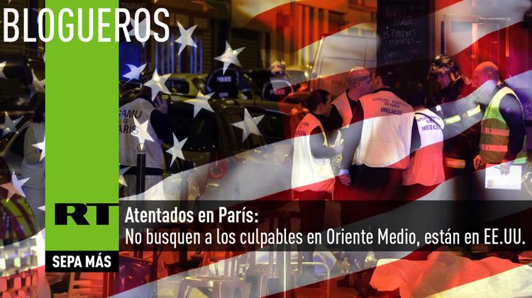Atentados en París: No busquen a los culpables en Oriente Medio, están en EE.UU.