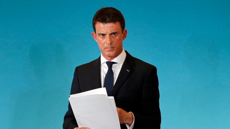"""El primer ministro francés promete vengarse del EI """"al mismo nivel"""" de los atentados de París"""