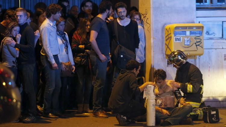 Fuertes imágenes: Nuevo video muestra el sangriento momento del ataque al teatro Bataclan