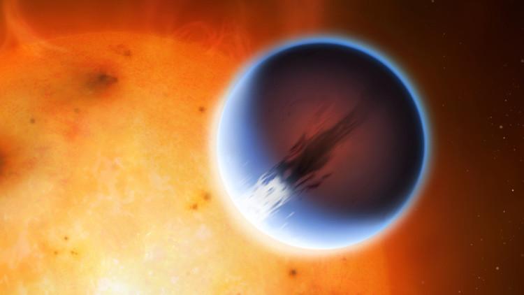 Científicos descubren un planeta donde los vientos soplan más rápido que la velocidad del sonido