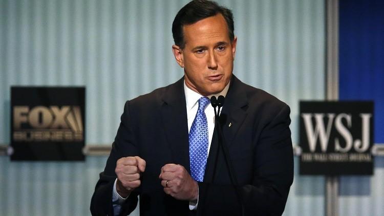 """El republicano Rick Santorum: """"Clinton y Obama crearon el Estado Islámico"""""""