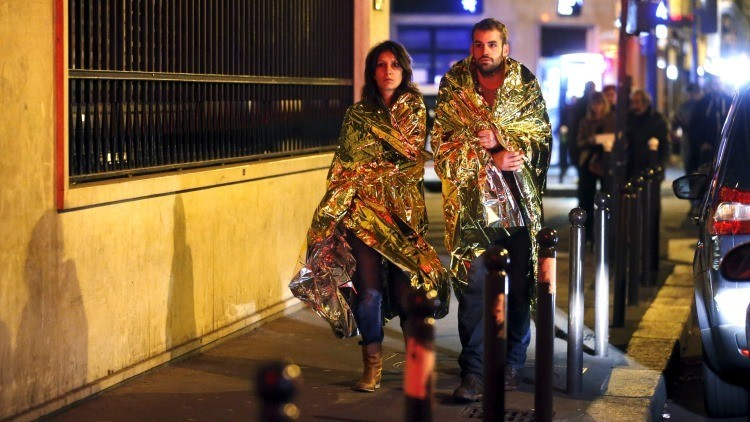 Publican una estremecedora imagen de la sala Bataclan después del ataque terrorista (+18)