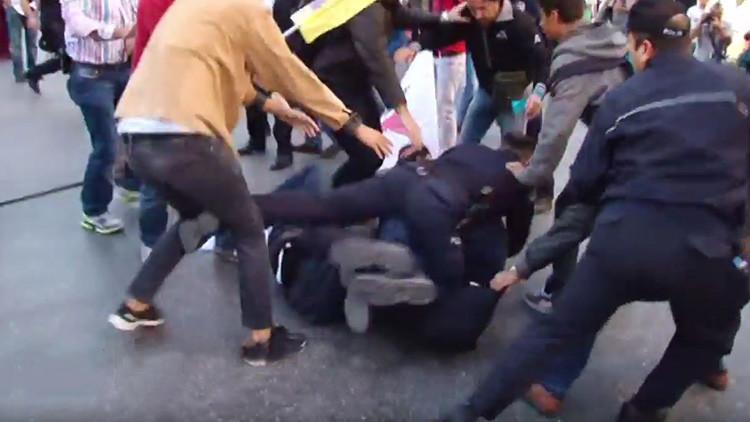 Video: Decenas de arrestados en una protesta contra la Cumbre del G20 en Turquía