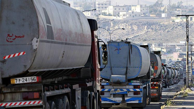 Rusia revela fotos espaciales que muestran el volumen de petróleo que vende el Estado Islámico