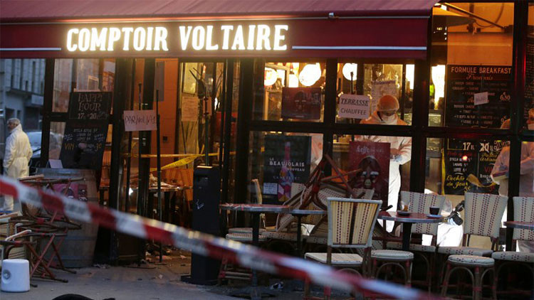 """Familiares del suicida del café parisino: """"Quizás estalló la bomba porque estaba estresado"""""""
