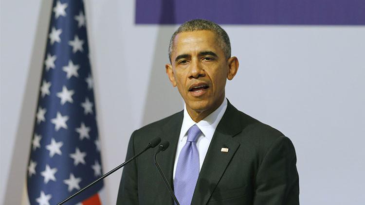 El presidente de Estados Unidos, Barack Obama, durante la cumbre del G-20, Turquía, 16 de noviembre de 2015.