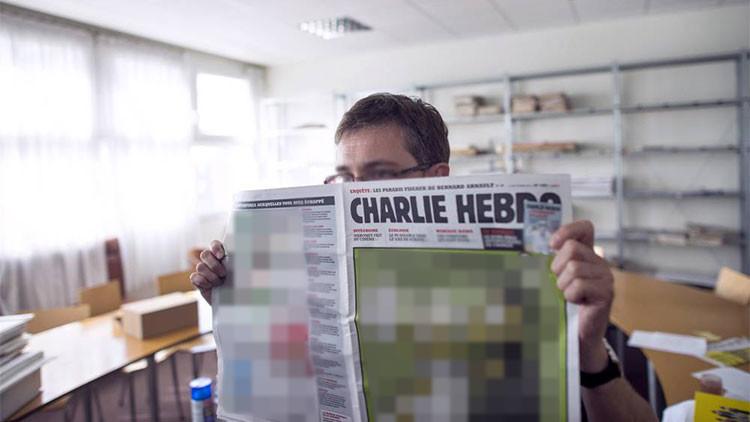 'Charlie Hebdo' publica una caricatura sobre los ataques terroristas en París