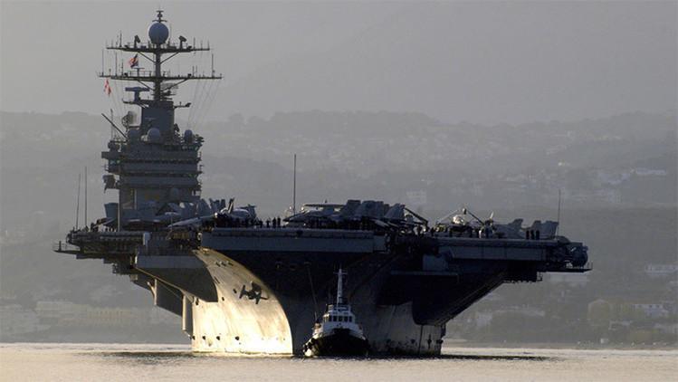 EE.UU. despliega su portaviones Harry Truman para luchar contra el EI