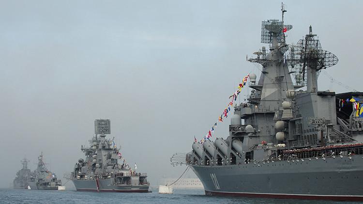 """""""La pesadilla del EI"""": La Armada rusa completa las pruebas de sus nuevas naves de misiles"""