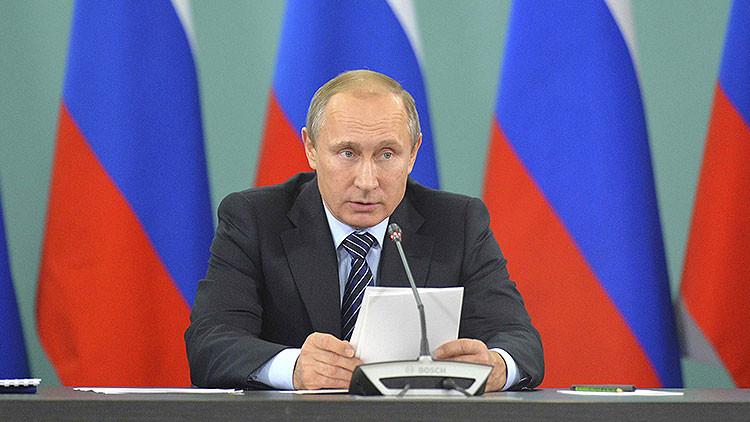 Putin ordena elaborar el Plan de Defensa de Rusia para 2016-2020