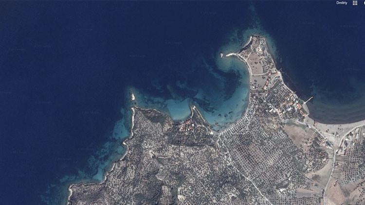 ¿Un estado perdido? Hallan una isla con una ciudad sumergida en el mar Egeo que data del 406 a. C.