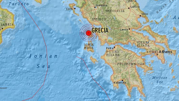 Grecia: Al menos dos muertos tras un terremoto de magnitud 6,5