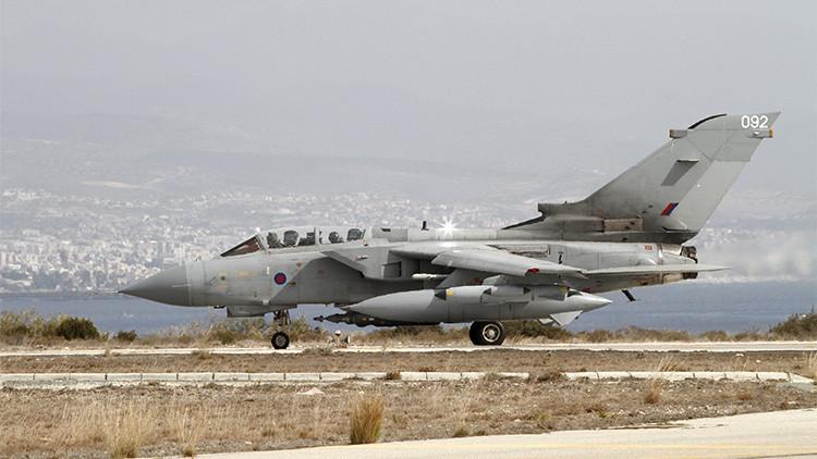 El Reino Unido lleva a cabo ataques aéreos contra más de 30 objetivos del Estado Islámico en Irak