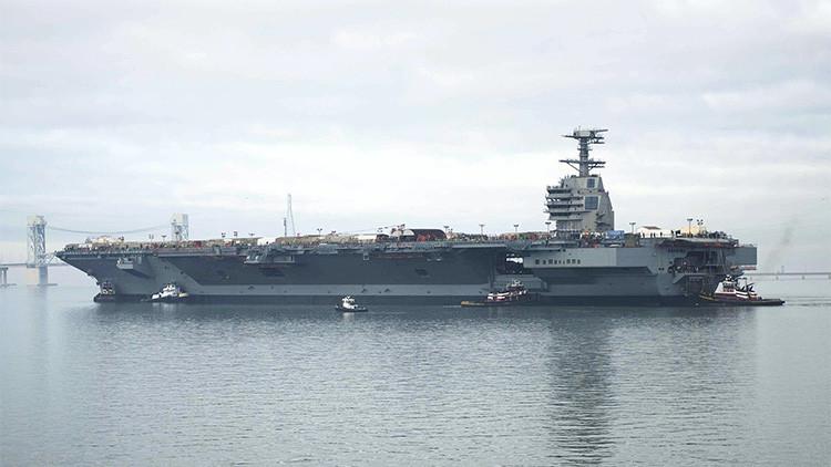 ¿Por qué los portaviones de EE.UU. son impotentes frente al armamento ruso?