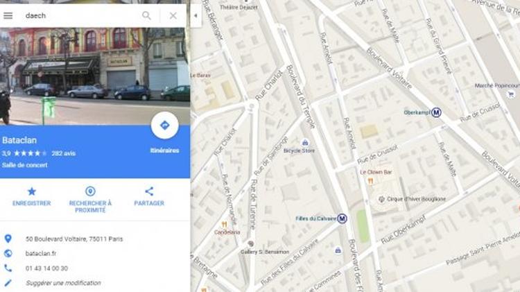 ¿Busca al Estado Islámico? Google Maps tiene una inesperada respuesta