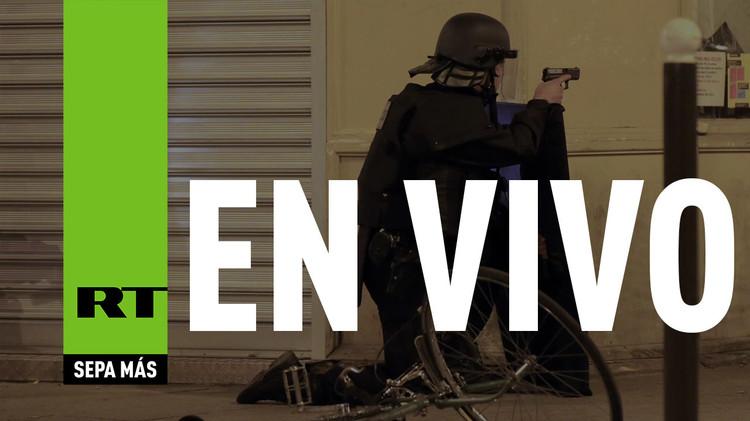 Explosiones y tiroteos en un operativo antiterrorista en el suburbio parisino de Saint-Denis