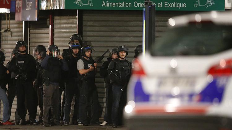 Se registran explosiones en un operativo policial en el suburbio parisino de Saint-Denis
