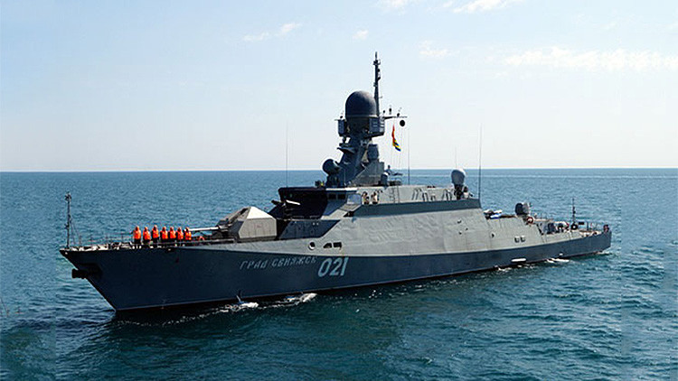 Corbetas rusas dotadas de misiles de crucero 'estrenados' en Siria llegan al mar Negro