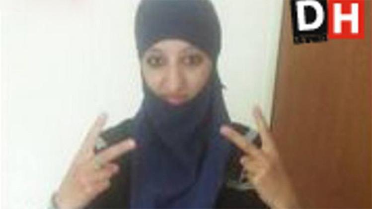 Un medio belga publica una foto de la terrorista suicida del suburbio parisino Saint-Denis