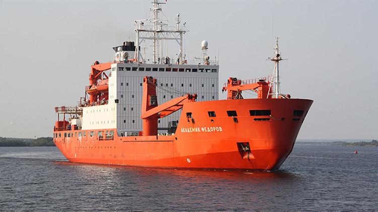 Retiran componentes potenciales de 'bomba sucia' de la Antártida