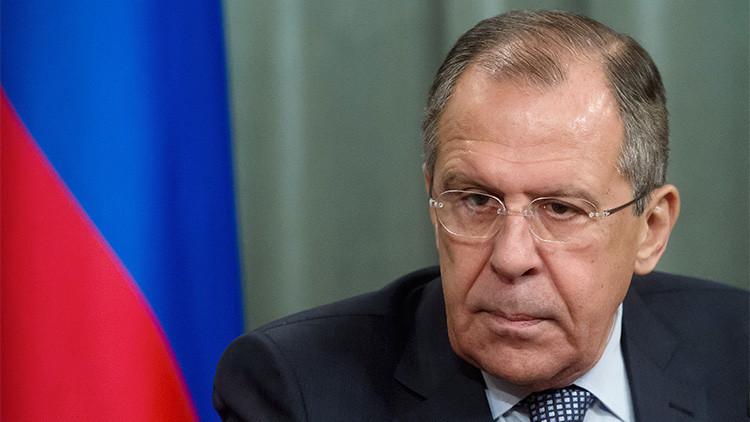 """Lavrov sobre Occidente: """"Al bajar la cortina de hierro podrían 'pillarse' algo"""""""