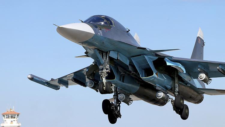 """Rusia redobla su 'cruzada' contra el terrorismo: La aviación ataca """"día y noche"""" al Estado Islámico"""